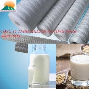 Lõi sợi quấn lọc sữa