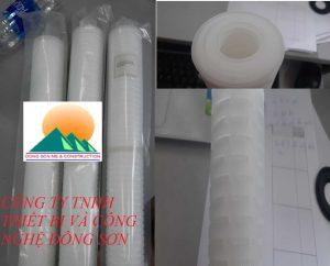 0.1-3 Um Pleated Polypropylene Filter Cartridge