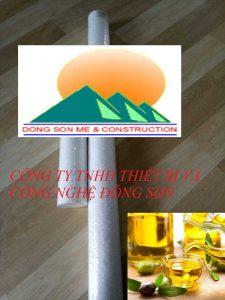 Lõi lọc dầu ăn (Polypropylene)