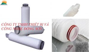 20 Inch Pleated Filter Cartridge 0.2 Micron