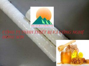 lõi sợi quấn lọc mật ong