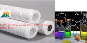 Lõi sợi quấn lọc hóa chất