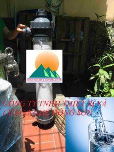 Màng lọc UF lọc nước sinh hoạt