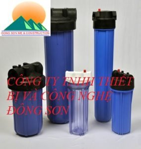 PP Cartridge Filter Housing